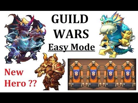 Guild Wars Attacks Main Account Demogorgon Triton Gameplay Castle Clash GW 1.12.2016