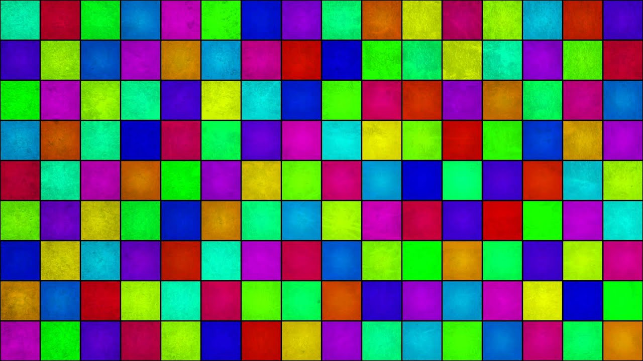 Colorful Grid - HD Background Loop - YouTube