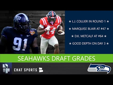 Seahawks Draft Grades: All 7 Rounds From The 2019 NFL Draft Featuring L.J. Collier & D.K. Metcalf
