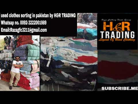 Used clothes sorting in pakistan by H&R TRADING