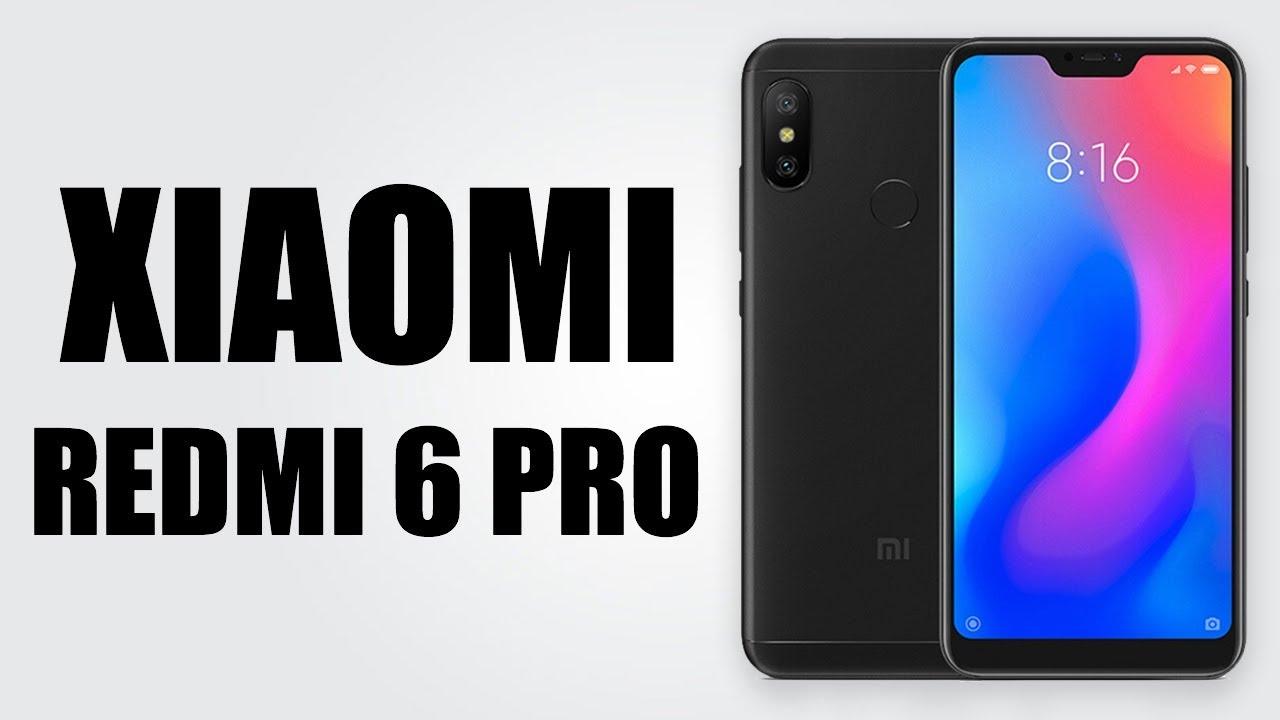 Xiaomi Redmi 6 Pro 5 84 Inch Miui 9 4gb Ram 64gb Rom 12 0