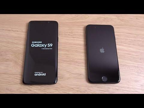 samsung s9 frente a iphone 7