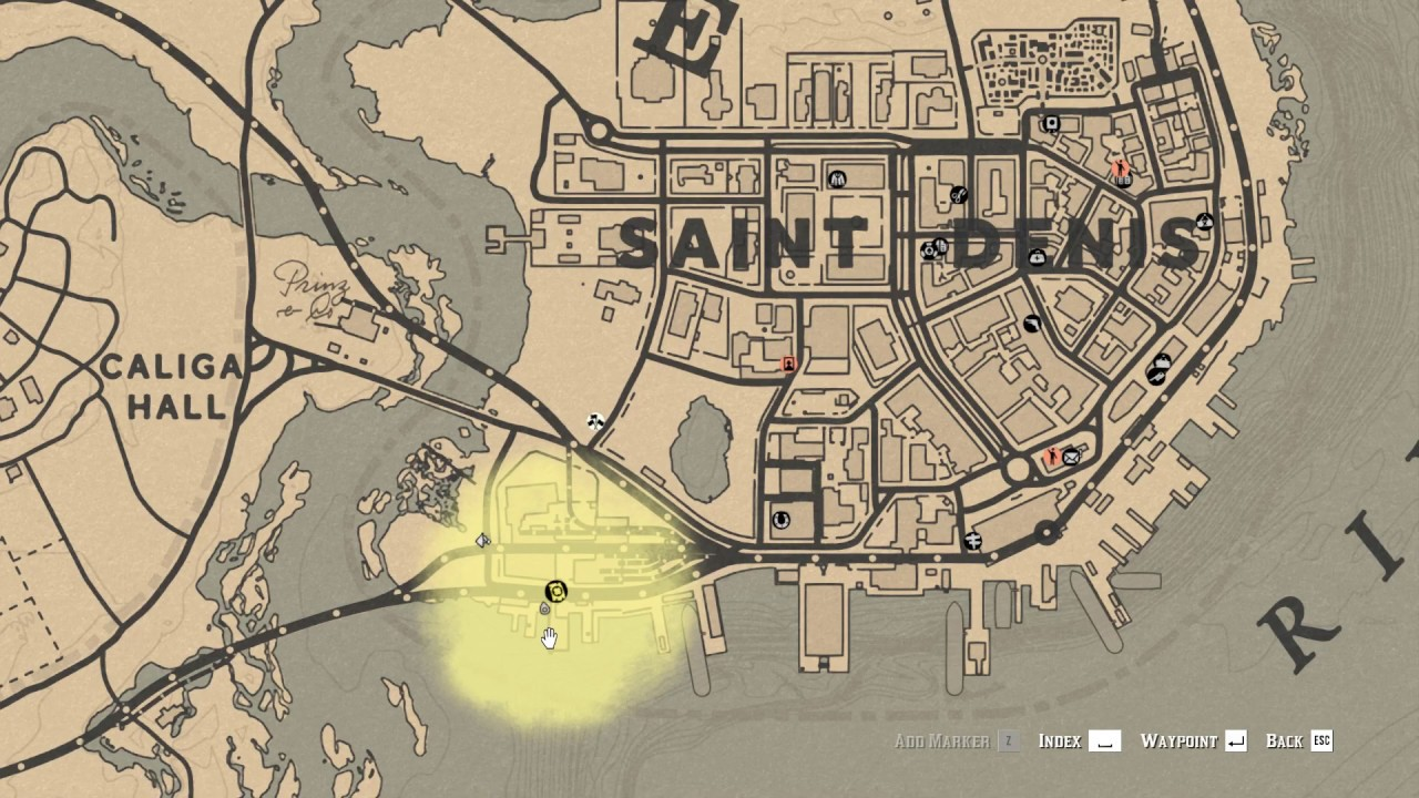 Red Dead Redemption 2 Online Saint Denis Port Antique Alcohol Location Youtube
