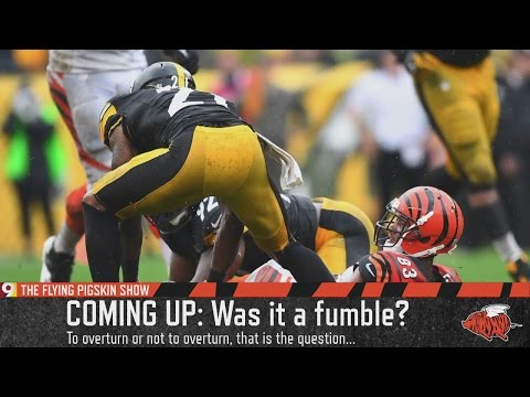 Was the Cincinnati Bengals fumble in the 4th quarter against the Steelers really a fumble? - Flying