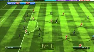 FIFA14 Gameplay ITA Carriera allenatore. Amichevole INTER . STADE REIMS.