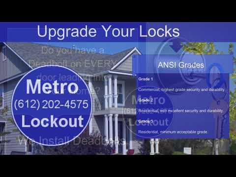 Residential Locksmith Minneapolis, MN - Metro Lockout (612) 202-4575