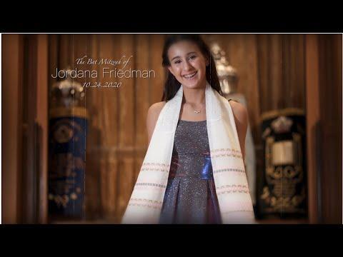 Jordana's Bat Mitzvah | 10.24.2020 | Temple Service