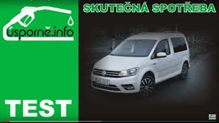 TEST: Volkswagen Caddy 1,4 TGI 81 kW (CNG) - skutečná spotřeba
