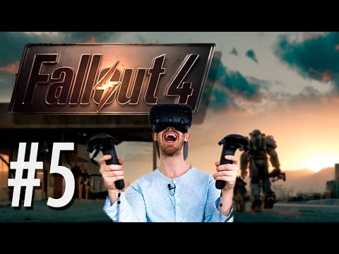 LEAD THE WAY DANSE! | Fallout 4 in VR #5 - HTC Vive Gameplay