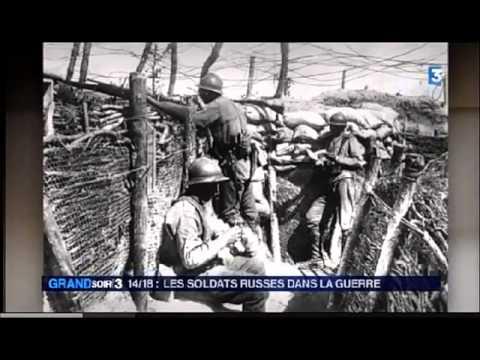 Reportage de France 3 sur le Corps expéditionnaire russe en France