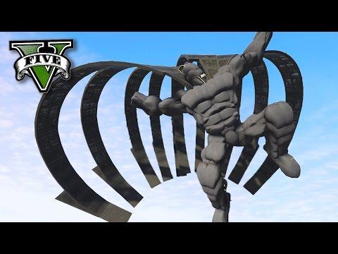 GTA V Online: O BATMAN GIGANTE no MAZE BANK!