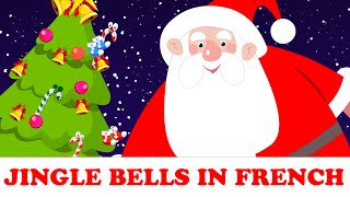 Vive le vent | Jingle Bells in French | chansons de noël pour enfants
