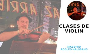 bases. de la postura violin ingles, Clases Online con el Maestro Halsband