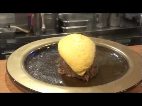 The most awesome Omurice in Kichi2, Kyoto Japan