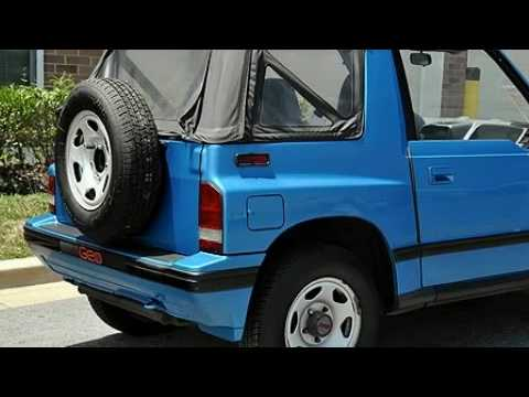 Pre-Owned 1990 Geo Tracker Annapolis MD