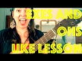 How to Play EXES and OHS Ukulele Lesson Elle King Chords Strum Tutorial XOXO