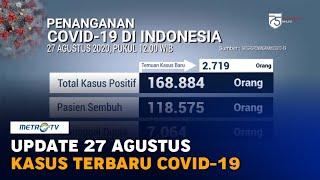 Update 27 Agustus: Rekor Tertinggi, Kasus Positif Covid-19 Bertambah 2.719
