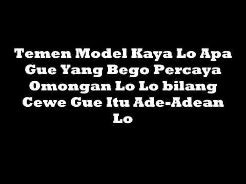 Young Lex - Teman Palsu (lirik)
