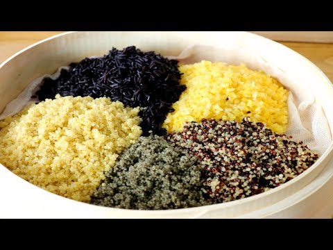 糯米五穀糍粑,學會湖南特色做法,健康無添加,比年糕更好吃! 【夏媽廚房】