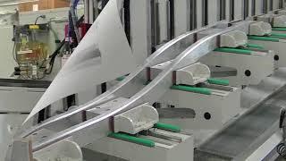 S9010   CNC Machining Centre for Curved Profiles | COBRA INDUSTRIAL MACHINES-UAE