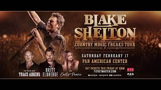 Blake Shelton Country Music Freaks Tour Las Cruces #MusicMonday