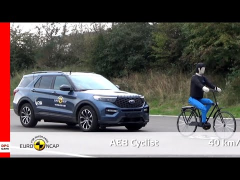 Ford Explorer Plug in Hybrid SUV Crash and Safety Tests