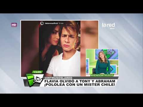 Pasado Pisado: Con Este Galán Flavia Medina Olvidó A Tony Spina Y Abraham García