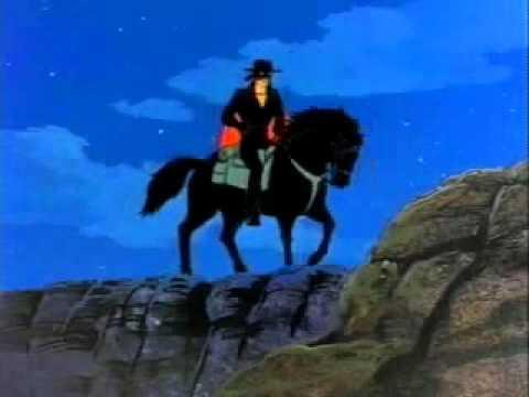 Zorro cartoon Filmation Diego becomes Zorro.flv