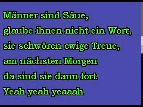 MÄNNER SIND SCHWEINE - Ärzte - (Karaoke CD+G)