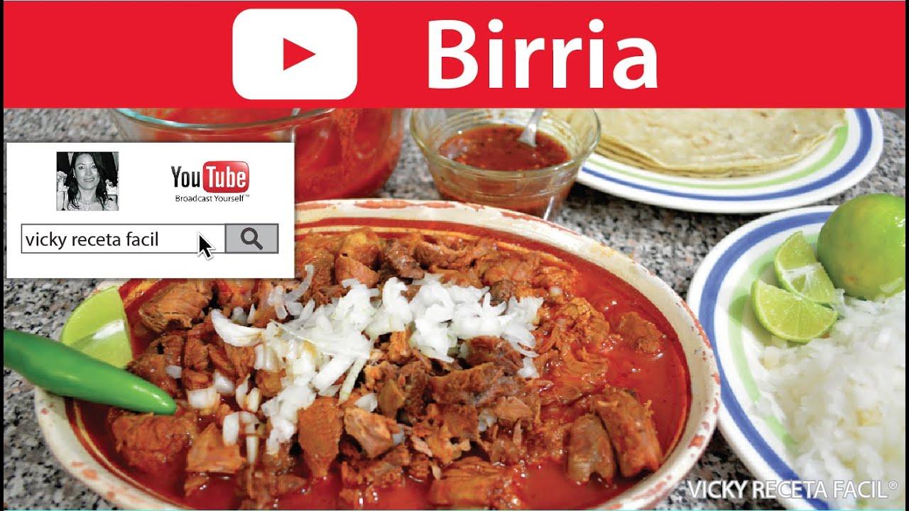 BIRRIA | Vicky Receta Facil - ViYoutube