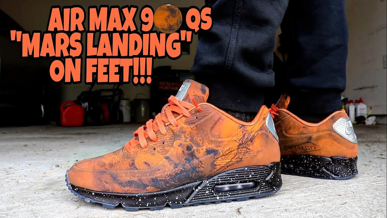 "WATCH: Nike Air Max 90 ""Mars Landing"" Unboxing and On Feet"