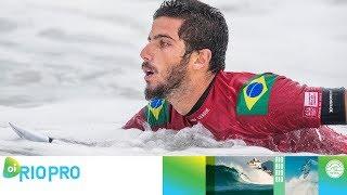 Toledo vs. Igarashi vs. Gouveia - Round One, Heat 1 - Oi Rio Pro 2018