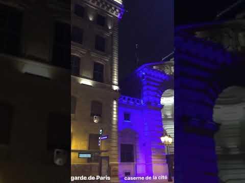 préfecture de police de Paris , observer l'architecture magistrale