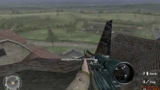"""""""Call of Duty 2"""", full walkthrough on Veteran, Chapter 8 - """"D-Day"""", part 3 - The Silo"""