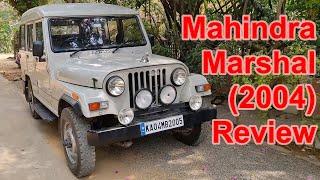 Mahindra Marshal 4wd 2004 model Review