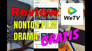 Review WeTV   Nonton Film Drama Gratis screenshot 4