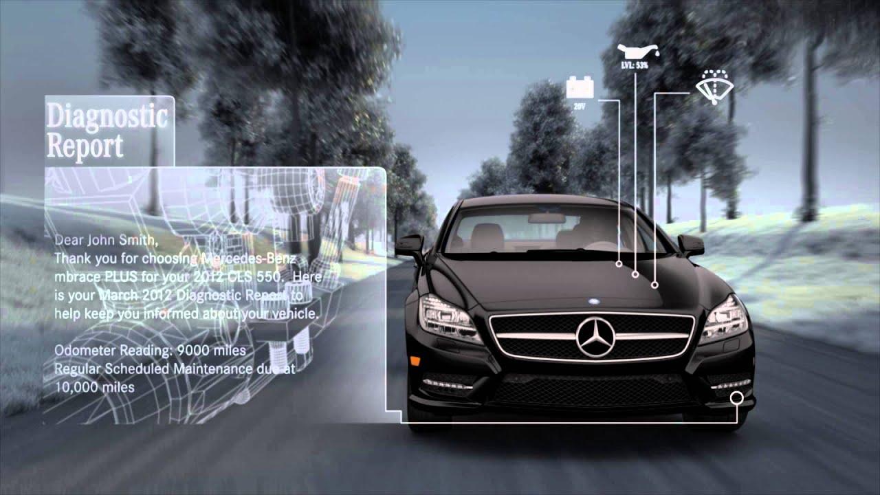 Mbrace remote auto diagnostic tools mercedes benz youtube for Mbrace mercedes benz