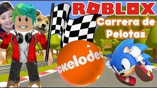 Corrida de bola? Esfera super do blocky Roblox jogos para crianças