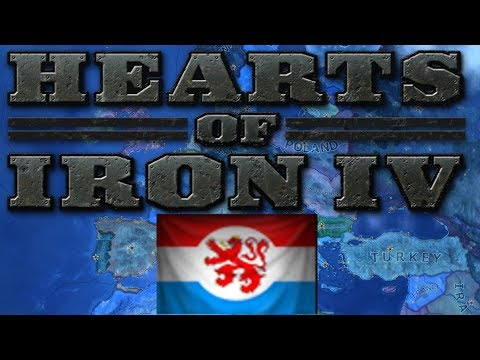 Hearts Of Iron IV Live Stream - Fascist Luxembourg