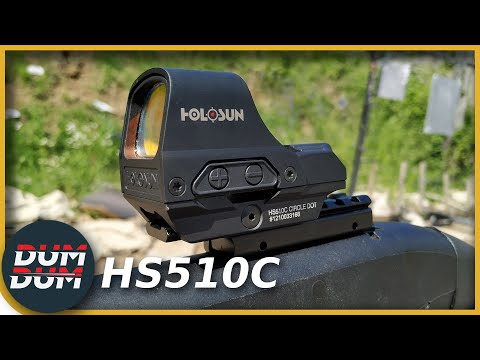 HoloSun HS510C Test Reflex Nišana (red Dot)