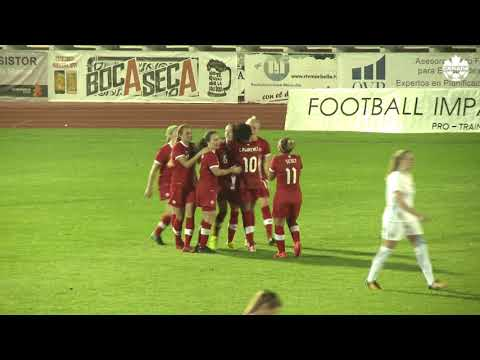 HIGHLIGHTS: Canada WNT 3-2 Norway