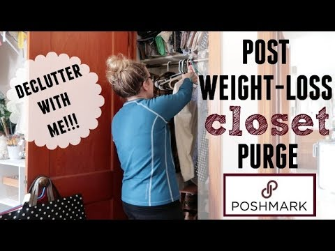 CLOSET PURGE | WEIGHT-LOSS | DECLUTTER WITH ME