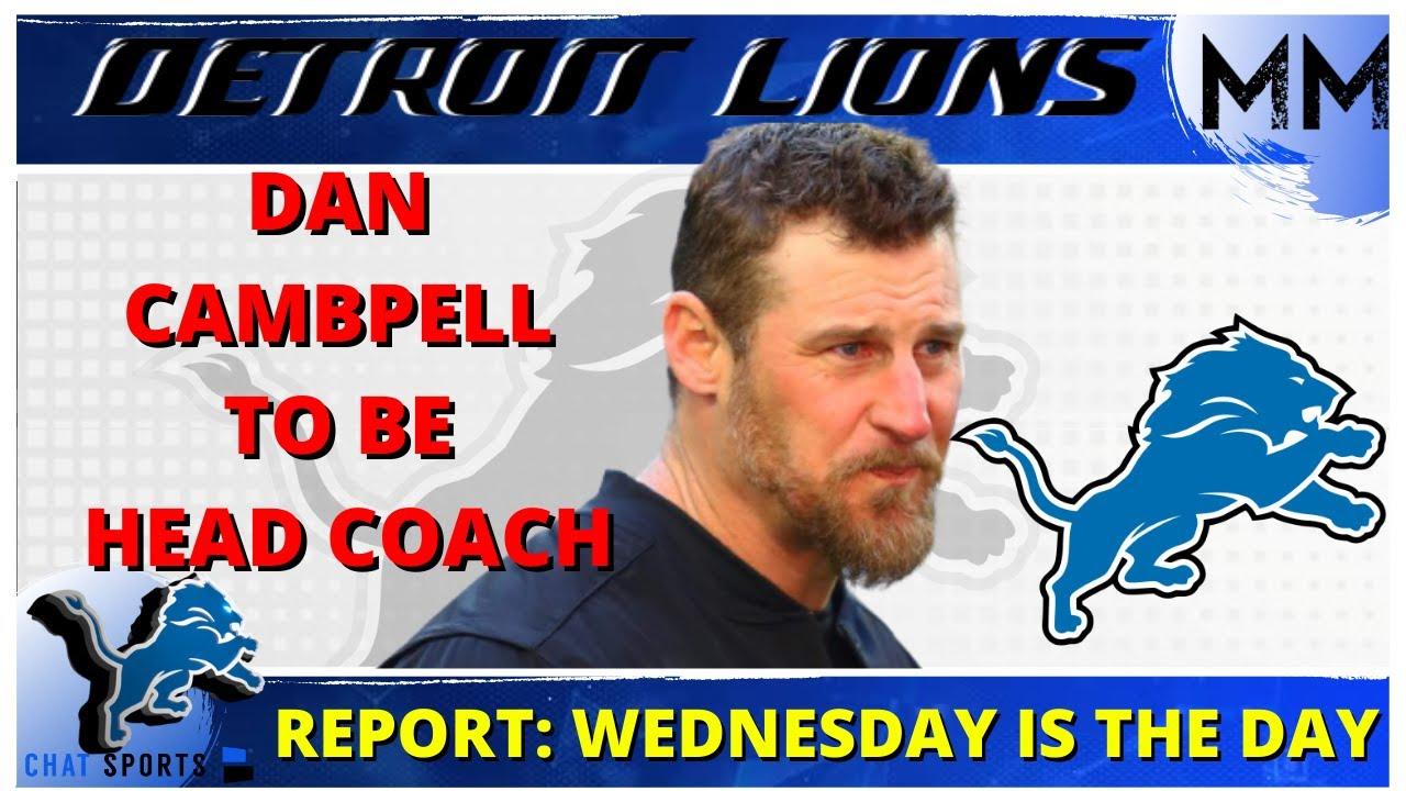 Lions agree to terms with Dan Campbell to become team's new ...