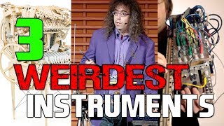 3 Weirdest Musical Instruments | Mike The Music Snob Reacts