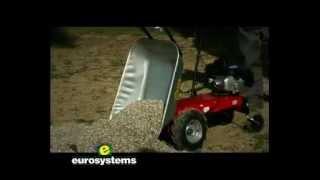 Brouette a moteur thermique Honda, 3,5 CV, 85 Litres