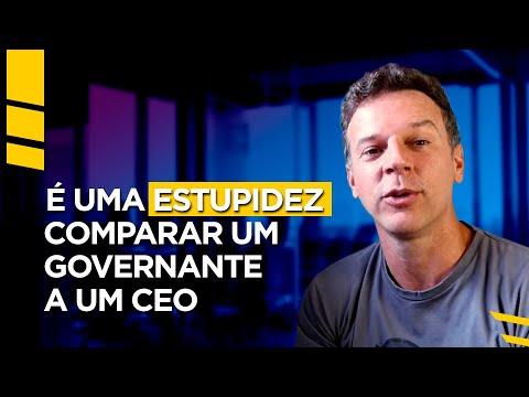 É uma estupidez comparar um governante a um CEO e um país a uma empresa