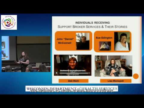 2016 SD Conference - How to Use a Support Broker
