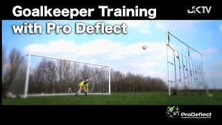 Goalkeeper Training with Pro Deflect