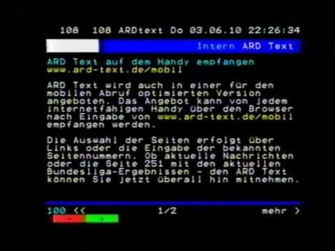 ARD Text 03.06.2010