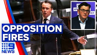 Daniel Andrews snubs opposition's effort to remove him from parliament | 9 News Australia